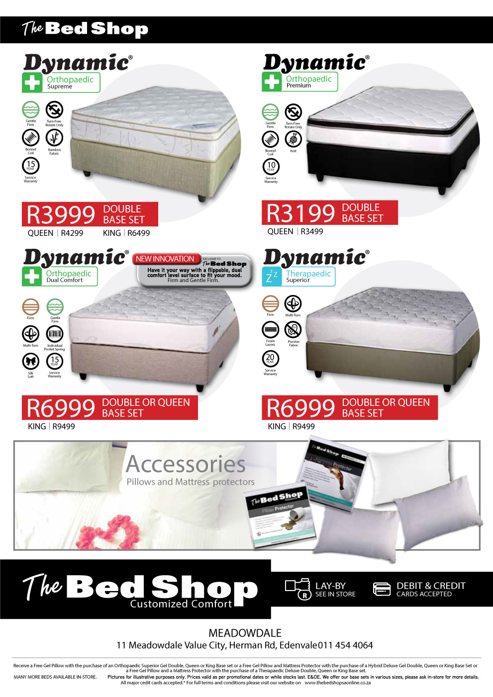 amazing deals for quality bed bases and mattress sets Wilgeheuwel